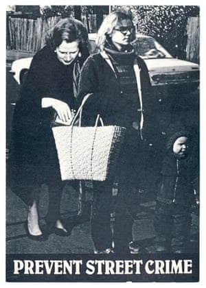Cath Tate, Prevent Street Crime, 1982