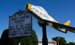 Downtown Goldsboro, North Carolina.