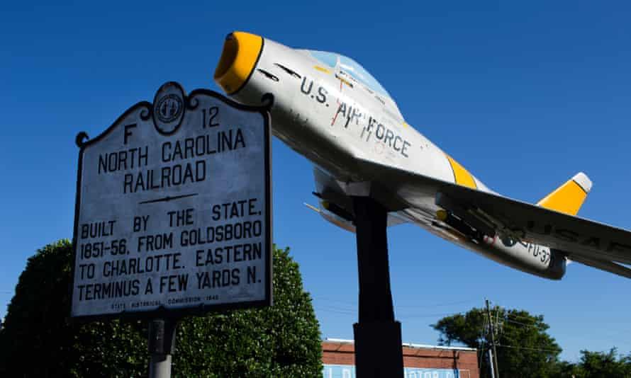 Downtown Goldsboro, North Carolina.