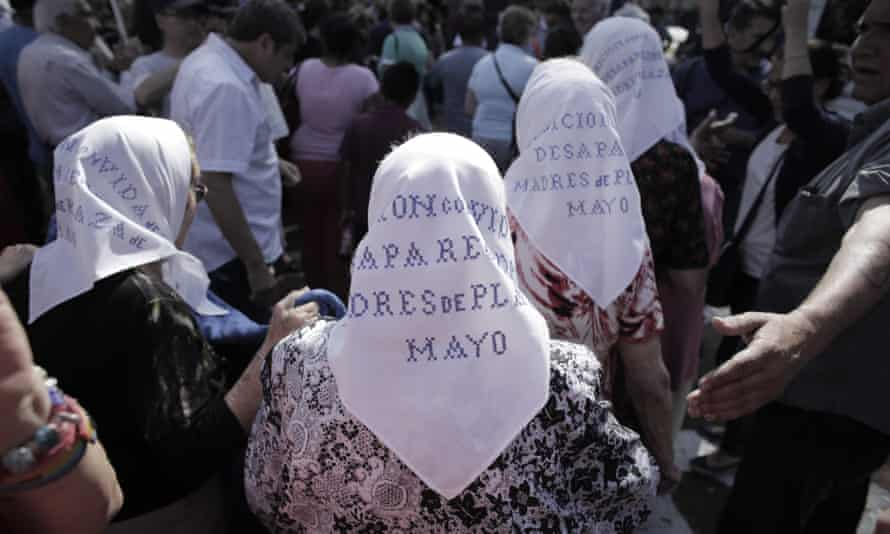 Mothers of Plaza de Mayo: 'Making people disappear is something that cannot be forgiven, it is the crime of all crimes.'