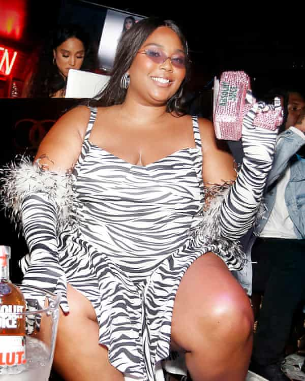 Are zebra stripes too much on a school night? Lizzo says no.