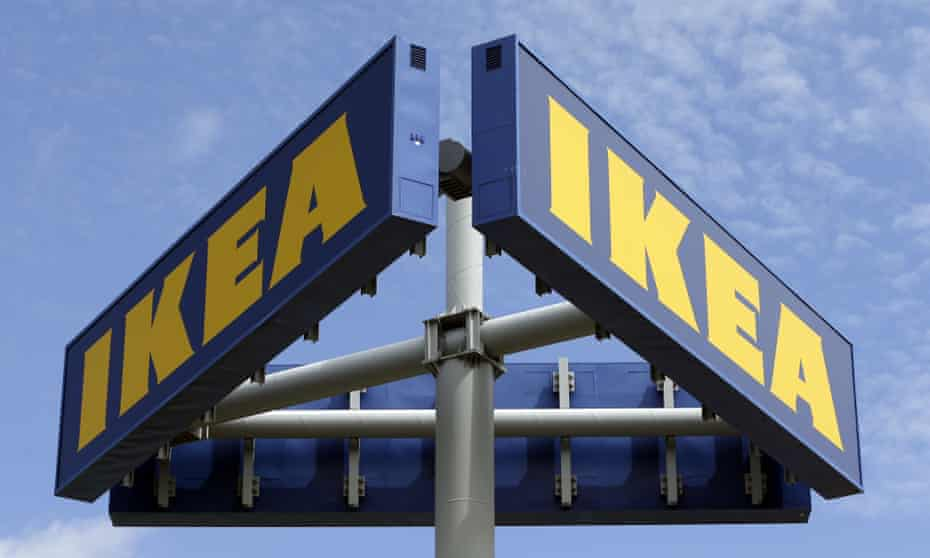 Ikea has received attention in the past for its advertisements.