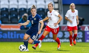 Kim Little led Arsenal to the title WSL title last season and is one of a number of high-quality players in Scotland's starting XI.