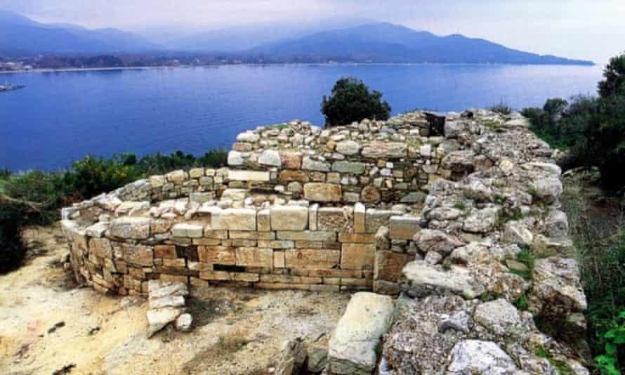 Aristotle tomb Stagira