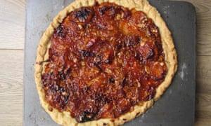 Lulu Peyraud's apricot tart.