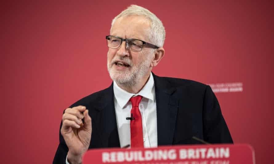 Labour leader Jeremy Corbyn launches Labour's European Election campaign.