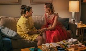 Beanie Feldstein and Saoirse Ronan in Lady Bird: a joyous, subversive friendship.
