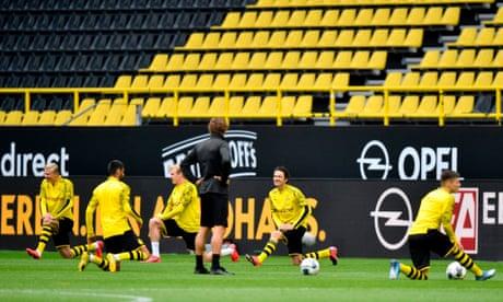 Borussia Dortmund v Schalke: Bundesliga returns – live!