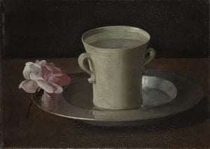 'These are the things the gallery has to explain' … A Cup of Water and a Rose by Zurbarán