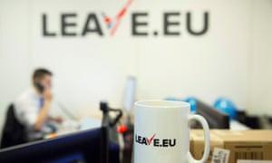 Leave EU campaign office
