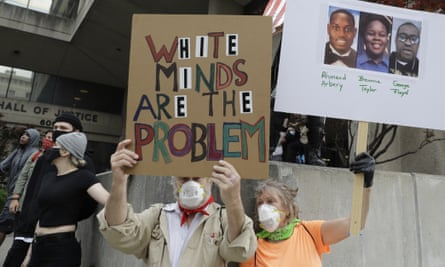 Protesters in Louisville, Kentucky