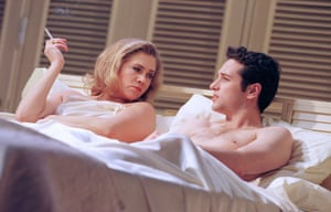 Kathleen Turner with Matthew Rhys in The Graduate at the Gielgud in 2000