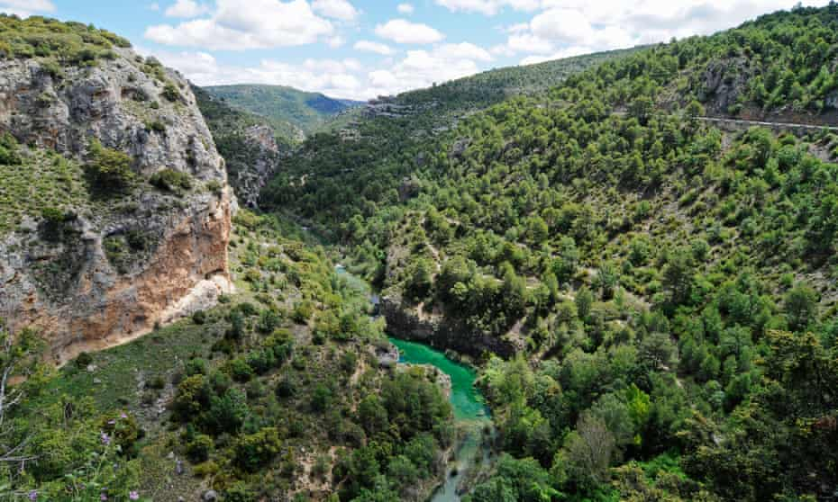 The River Júcar in its gorge.
