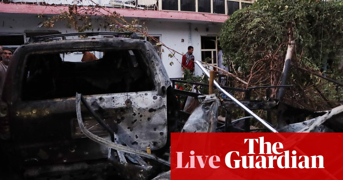 Afghanistan live news: US assessing reports of civilian deaths in drone strike; UN to discuss Taliban promise of 'safe passage'