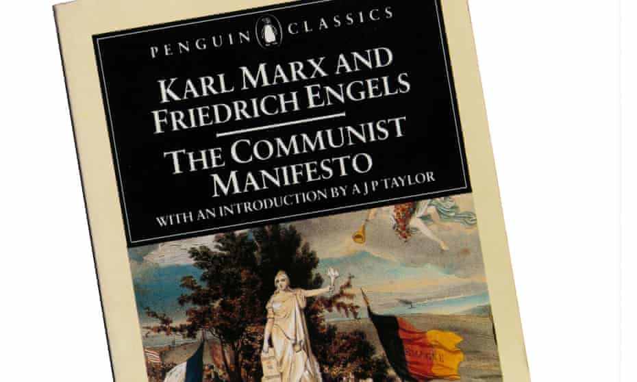 The Penguin Classics paperback edition of The Communist Manifesto by Karl Marx and Friedrich Engels.