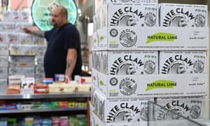 cartons of White Claw in New York