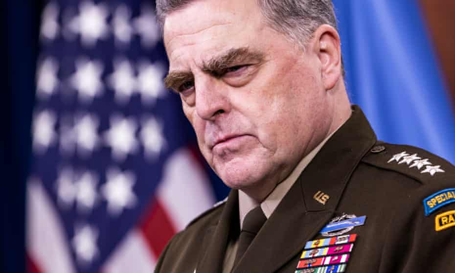 US Chairman of the Joint Chiefs of Staff Mark Milley