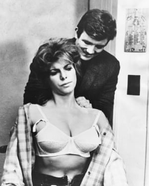 Billie Whitelaw and Albert Finney in Charlie Bubbles, 1967