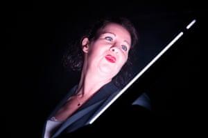 Irene Allan in Coriolanus Vanishes by David Leddy at the Traverse