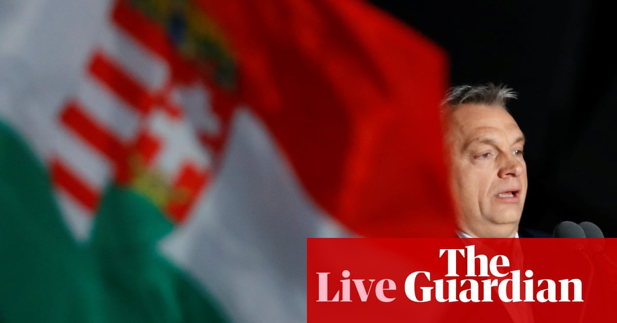Hungary election: Viktor Orbán declares victory - as it
