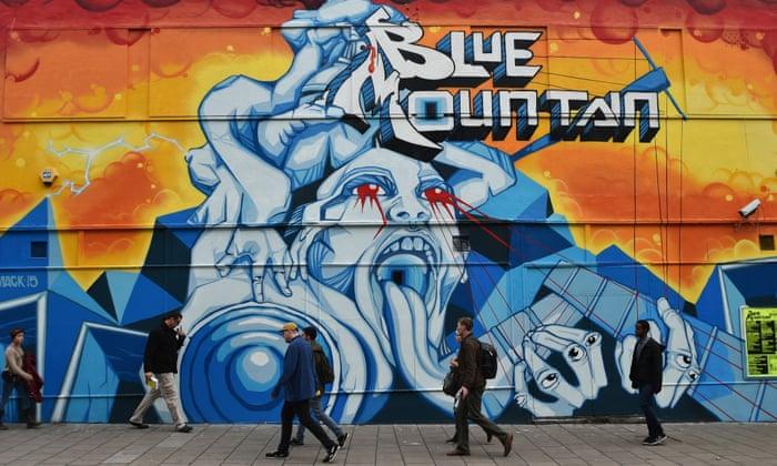 Bristol street artists work with city on legal graffiti walls | Art ...