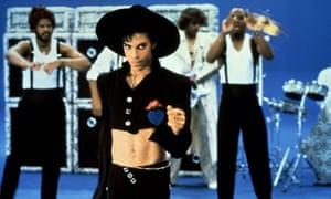 Prince in his Parade era: sexy, flamboyant and free.