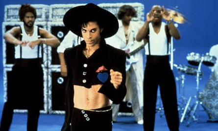 Prince in his Parade era: sexy, flamboyant and free.