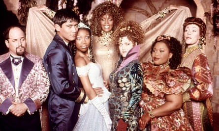 Brandy with Whitney Houston in Cinderella