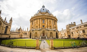 The Radcliffe Camera, part of the Bodleian Libraries in Oxford