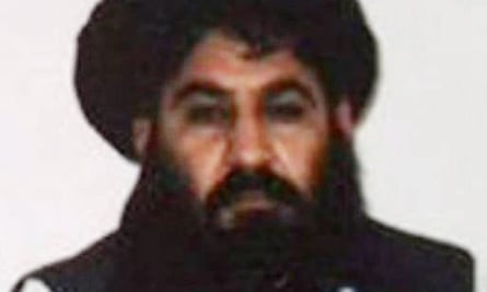 Mullah Akhtar Mansoor was killed in the drone strike.