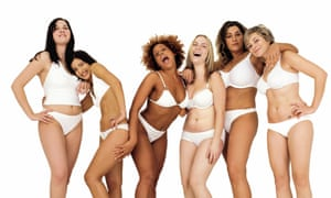 Some of the models from Dove's 'Campaign For Real Beauty'.