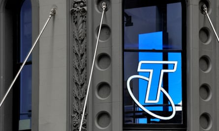 Telstra retail signage