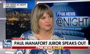 Manafort juror says one juror kept the jury from convicting Paul Manafort on all 18 counts