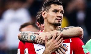 Dejan Lovren last played in the World Cup final, when Croatia lost to France.