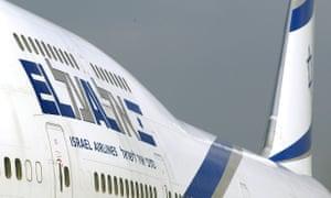 An El Al jet