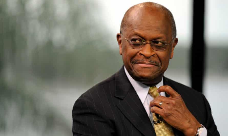 Herman Cain dies of coronavirus at age 74.