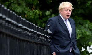 Boris Johnson has said there is no rush to trigger article 50.