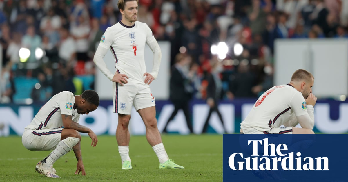 England's charming lads separated from glory by the finest of margins | Jonathan Liew
