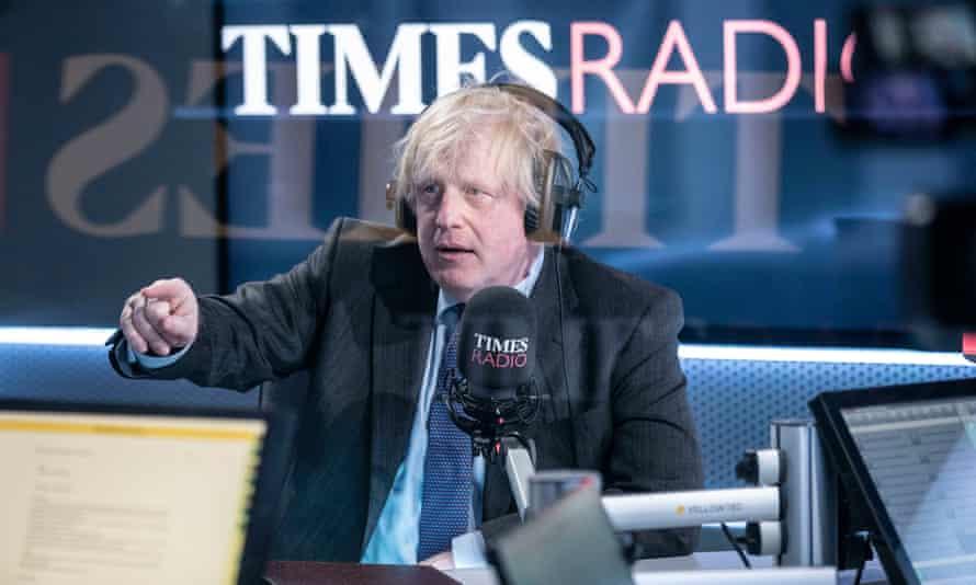 Boris Johnson on Times Radio