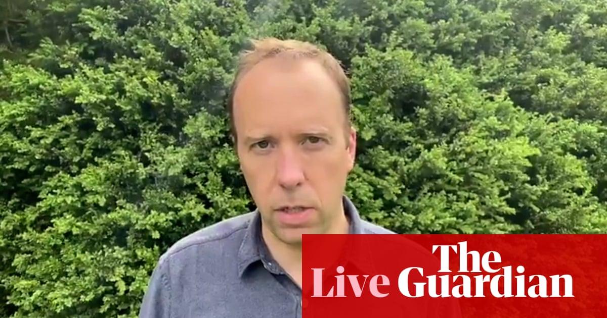 Matt Hancock resigns: Boris Johnson criticised for not firing health secretary as Sajid Javid starts new role – politics live