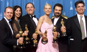 Harvey Weinstein won an Oscar as producer of Shakespeare in Love, from 1999.