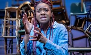 Kiza Deen in random at Leeds Playhouse.