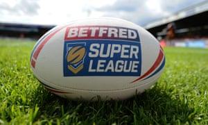 The official Super League match ball