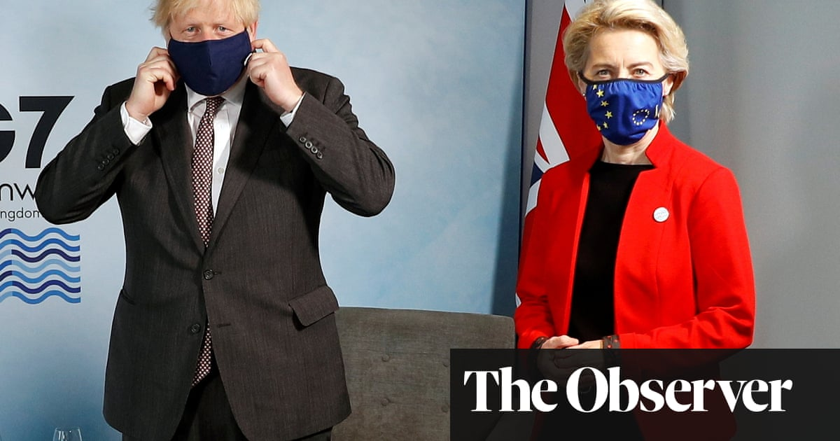 Brexit bust-up torpedoes Johnson's bid to showcase 'global Britain' at G7