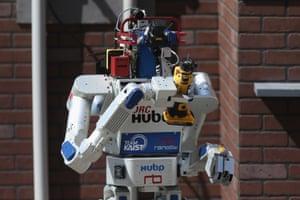 DRC-HUBO robot