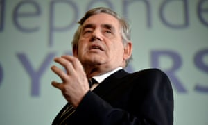 Gordon Brown speaking at the Bank of England conference 'Independence 20 Years On'