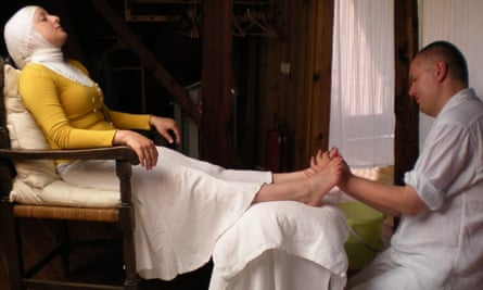 Adrian Howells' performance Foot Washing for the Sole.