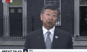 Koji Tsuruoka, Japanese ambassador to the UK