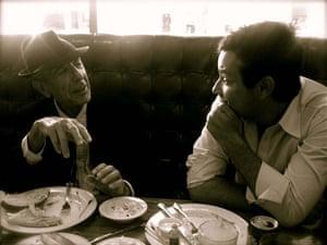 Leonard and Adam Cohen
