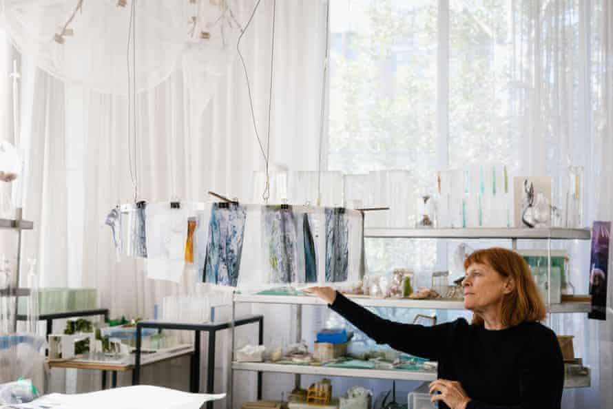 Australian artist Janet Laurence